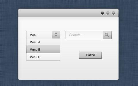 Black-and-White-GUI-Kit