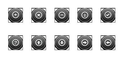 Page Navigation Icons