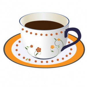 A Cup Vector Graphic