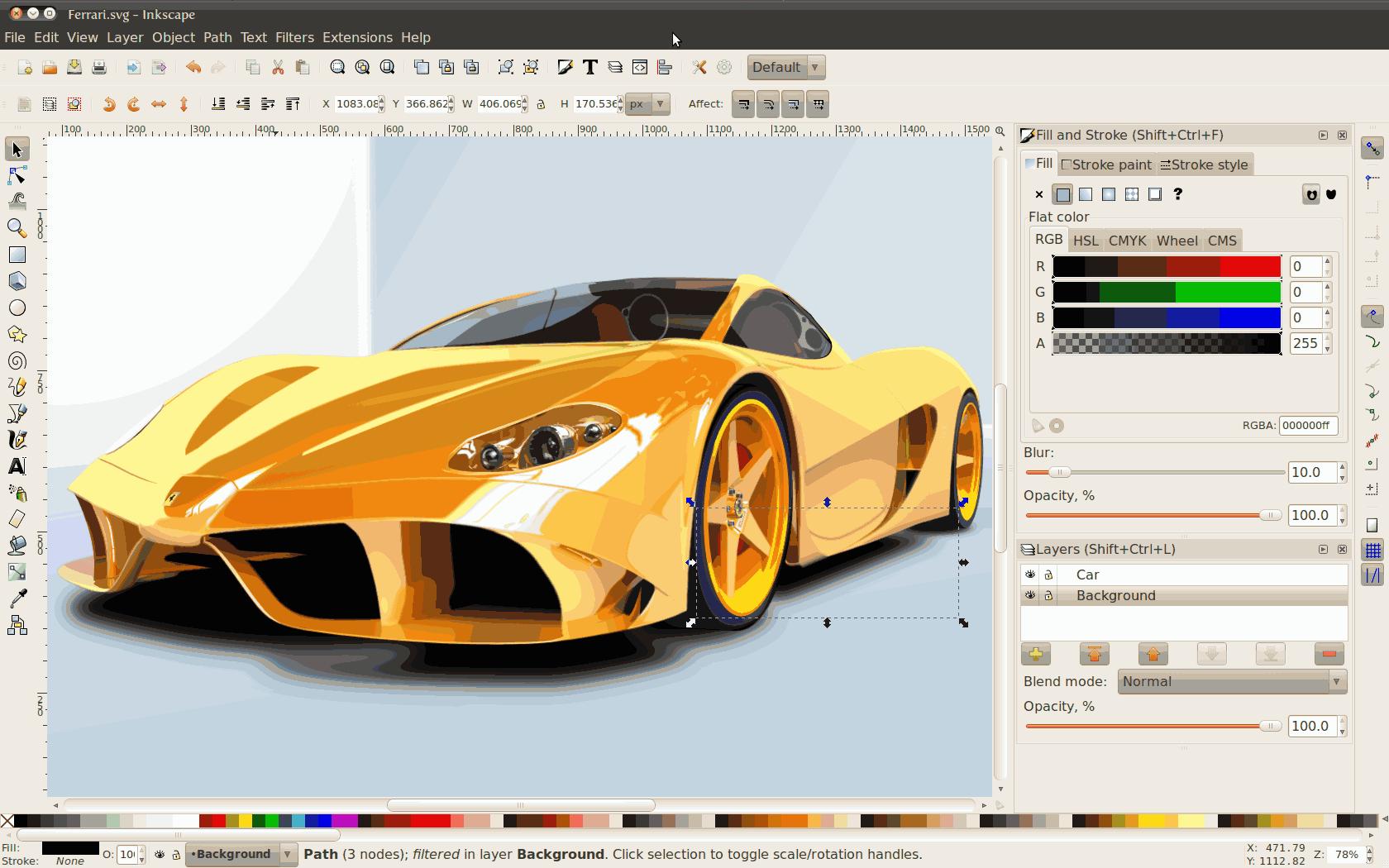 inkscape-0.48-ferrari
