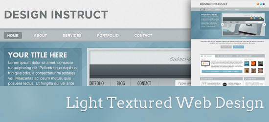 light_textured_webdesign
