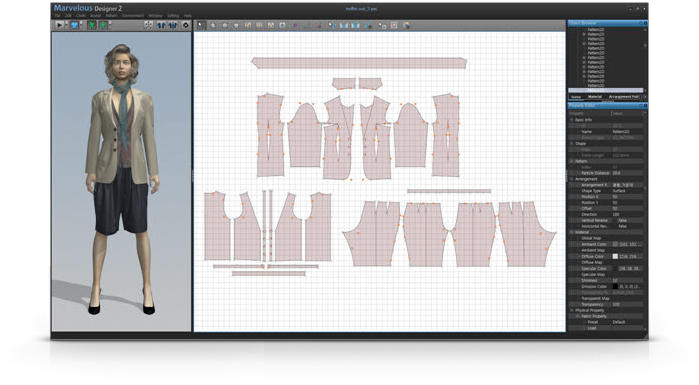 3d Clothing Design Software Marvelous Designer