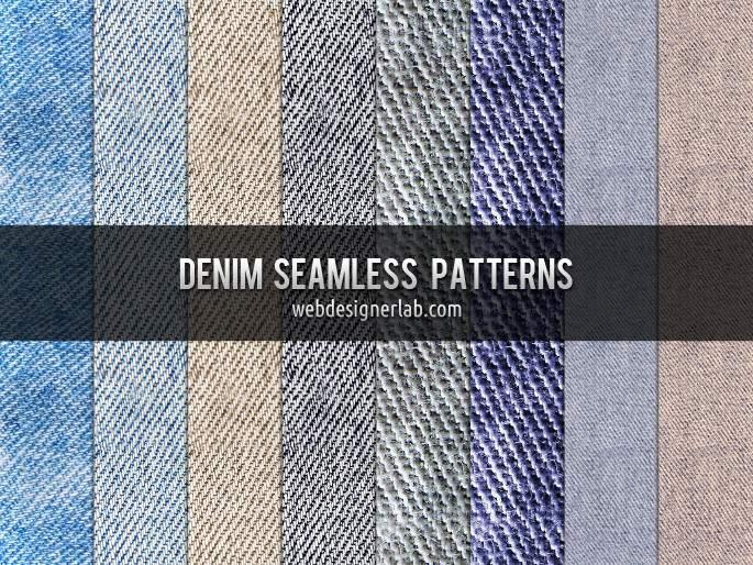 Free Denim Patterns