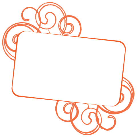 Text Frame Vector Graphic - Iconshots Magazine