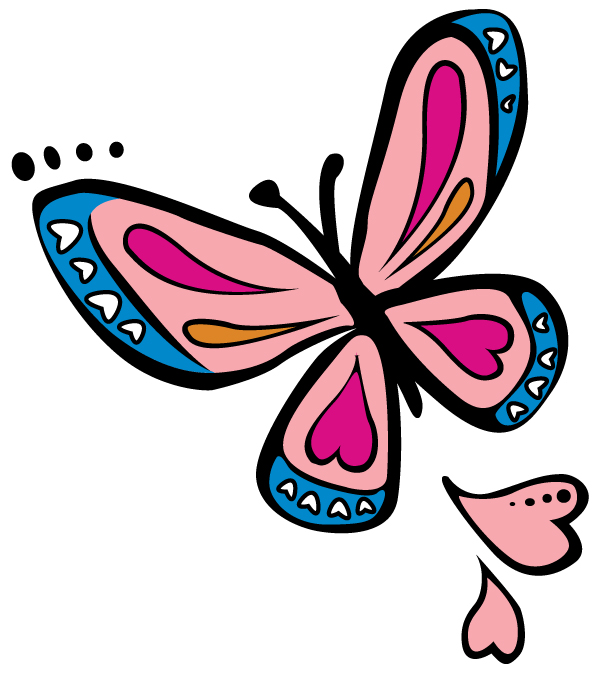 butterfly free vector graphic � design blog