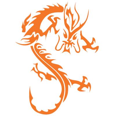 dragon vector graphic � design blog