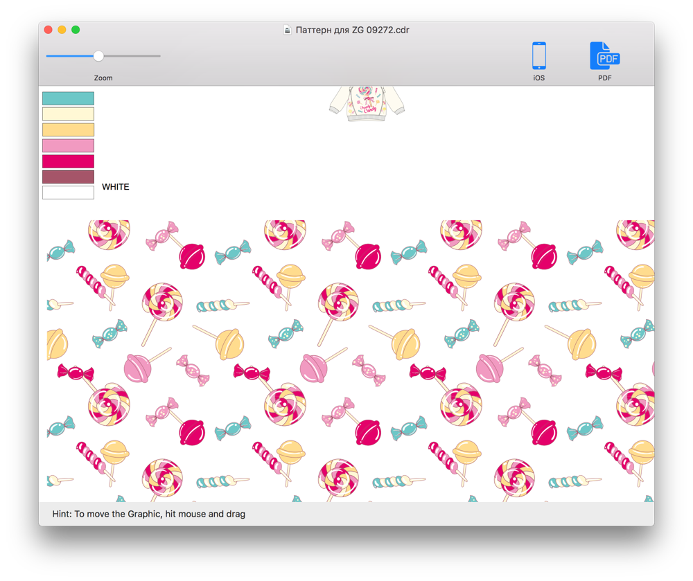 CorelDRAW file Viewer for OS X - Iconshots Magazine