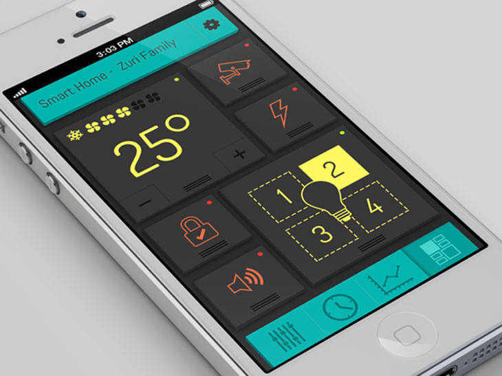Mobile UI Design Examples - Life and Tech Shots Magazine