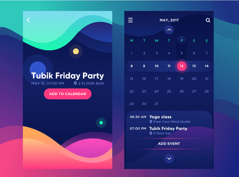 Ui Design Trends 2020.Awesome Mobile App Ui Design To Be Followed In 2019 2020